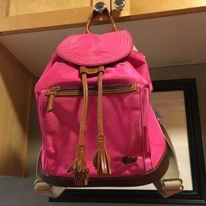Dooney and bourke nylon backpack